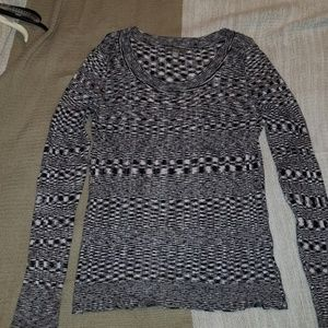Black / White Pattern Sweater